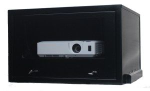 hid projector enclosure
