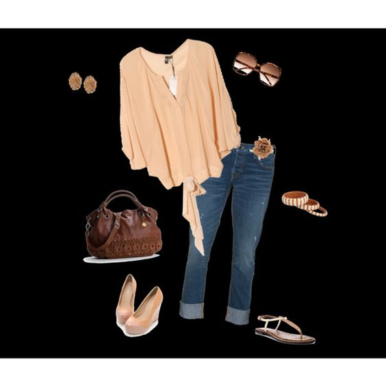 Spring Casual, created by sammyzstyle on Polyvore