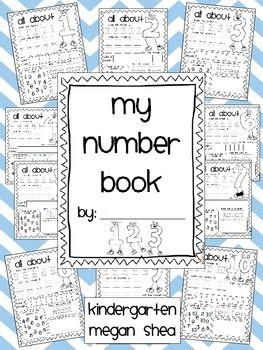 preschool number book number book kindergarten preschool math learning 179