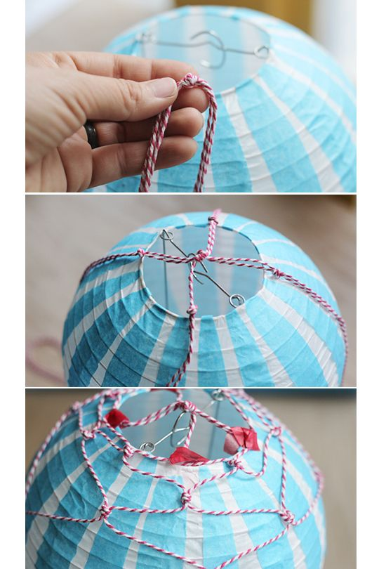 How to Make a Hot Air Balloon: Vintage Style
