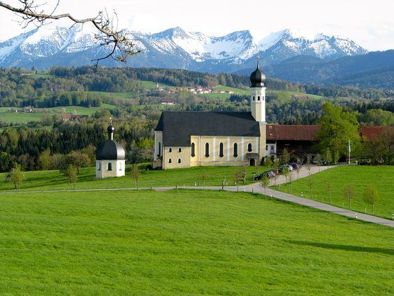Church, Bavaria, Germany