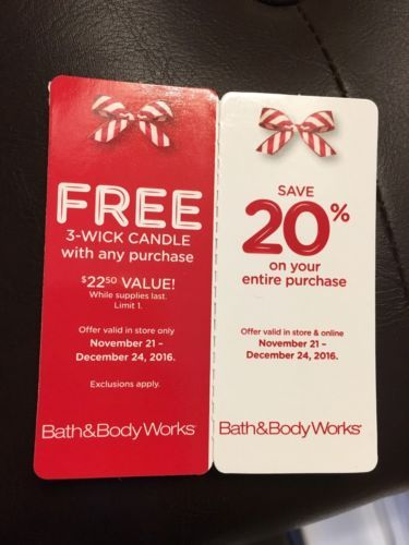 Bath and Body Works Coupon https://t.co/nYOD2Ea6Us https://t.co/uZJl5WeABH