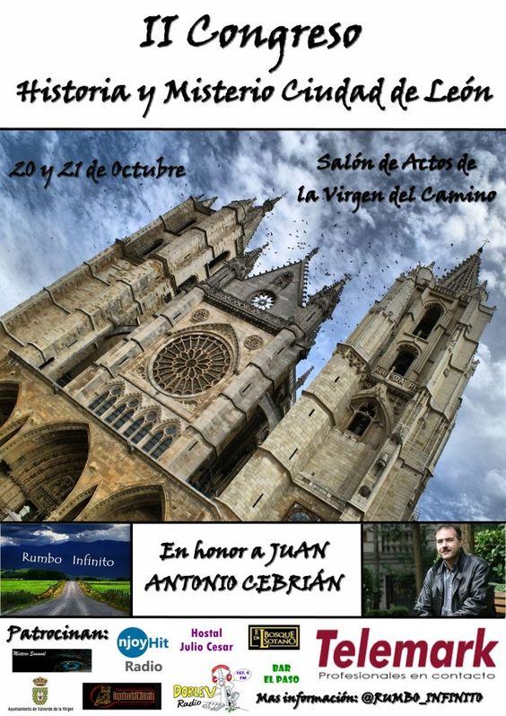 2 congreso de Historia y Misterio en ciudad de Leon.
