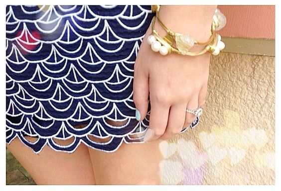Lilly pulitzer and hmwillow bangles