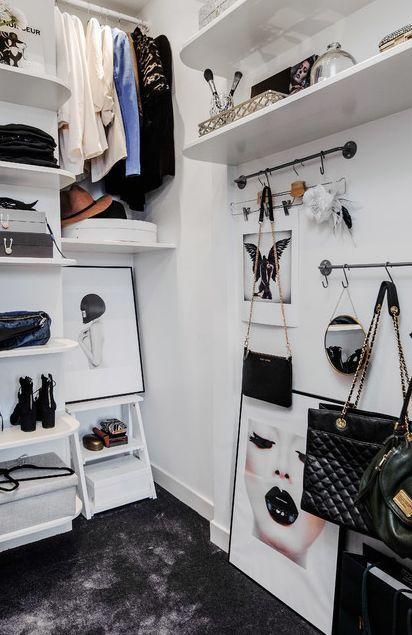 Cool Scandinavian Closet