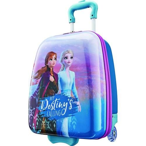 American Tourister Disney Kids 19 Hardside Upright Suitcase Frozen 128401 4427 Best Buy Frozen Kids Kids Luggage Frozen Toys