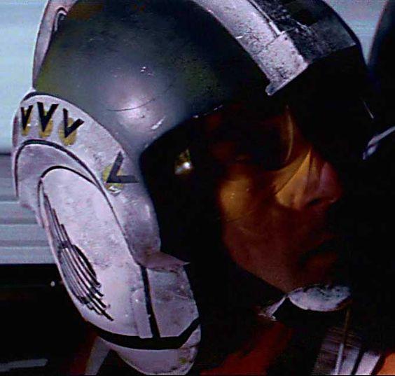 Original Rebel Pilot Helmets - Wedge's Flight Helmet