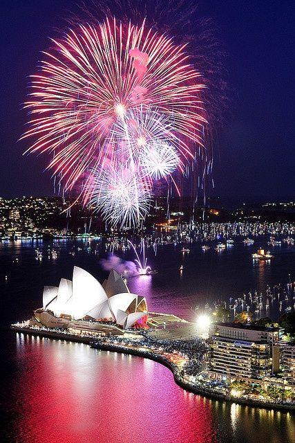 Sydney, Australia ~ New Year
