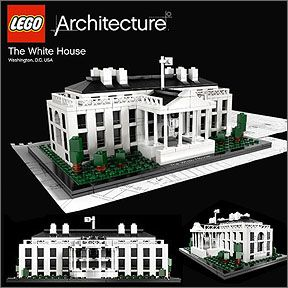 Lego architecture the white house creative toys and kits for Home architecture analogy