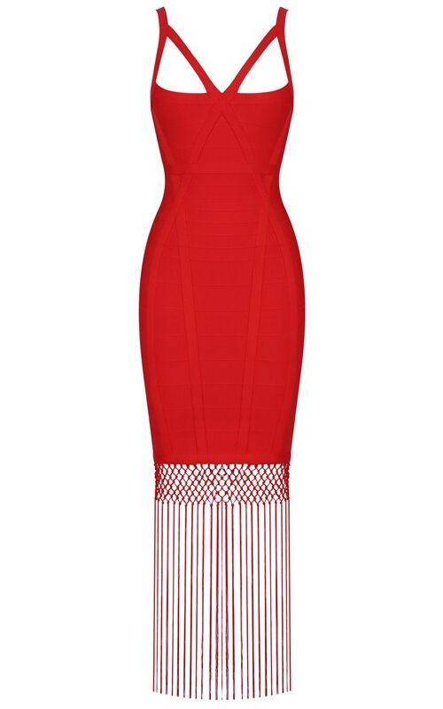 Fringe Crochet Midi Dress Red Red Dress Outfit Purple Dress Accessories Red Dress