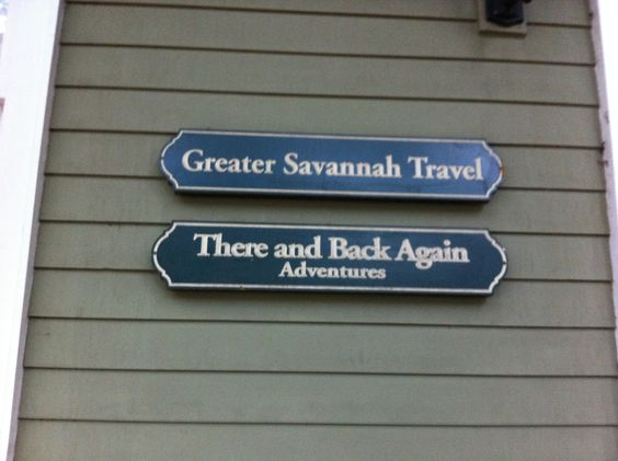 The Tolkien fan in me insists this is the best name for a travel agency ever.
