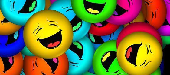 Smilefjes, Glede, Mange, Uttrykksikon, Funny, Le, Glad: