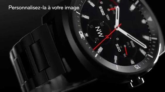 LG G Watch R-piloter par son smartphone ! mais depuis sa montre !!