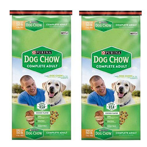 Purina Dog Chow Complete Dog Food Bonus Size 50 Lbs 2 Bags Want