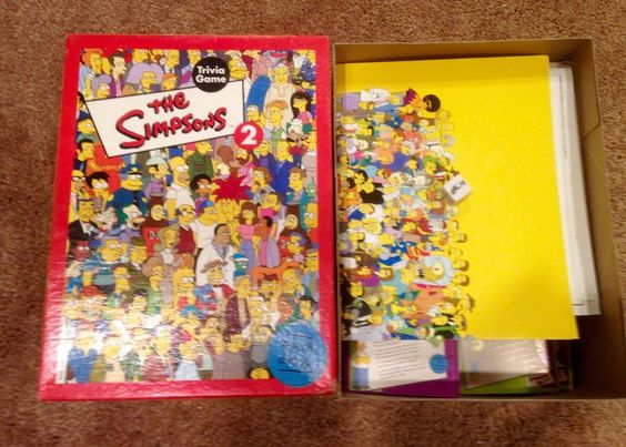 Simpsons Trivia Game Volume 2 Opened But Complete | eBay $3.99