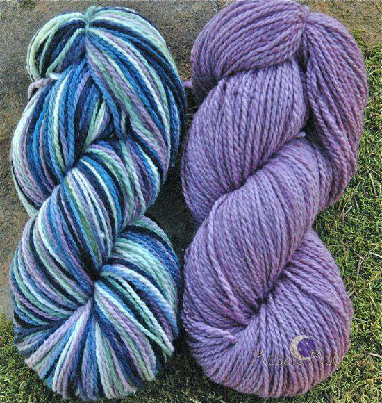 Grape Hyacinth Lavender trim