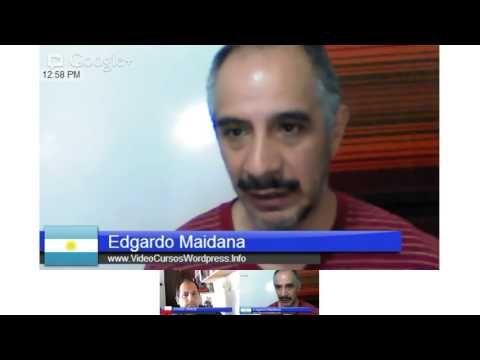 Entrevista que me realizo Andres Hertzer desde Valparaiso Chile Via Hangout