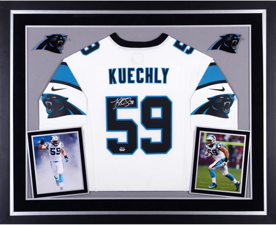 Nike NFL Mens Jerseys - Luke Kuechly Panthers Signed NFL Jerseys | Nike, Football Jerseys ...