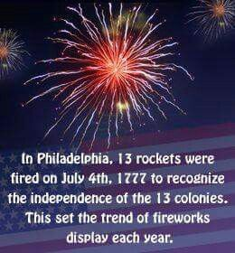I was wondering why we blow stuff up for celebrating independence