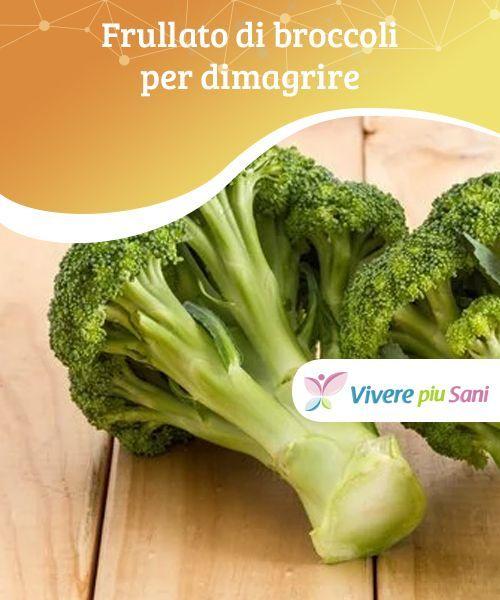 ricetta di perdita di peso di broccoli
