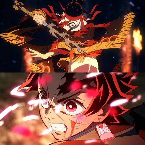 Demon Slayer Tanjiro Dance of the fire god