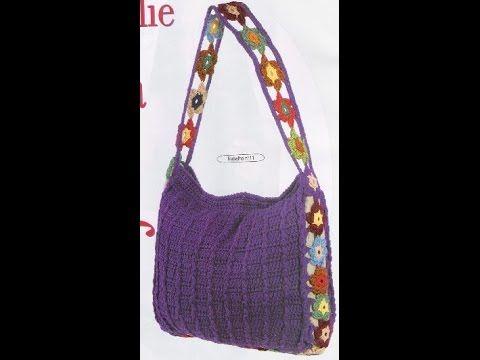 Crochet Patterns For Free Crochet Bag 806 Youtube Tasne