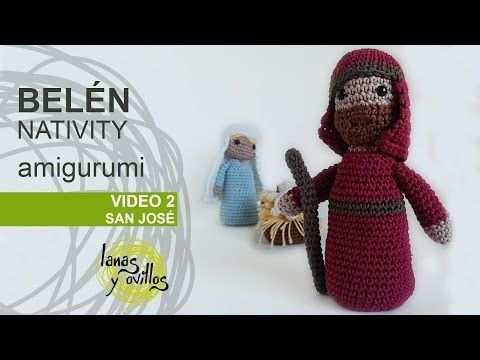 Belen Nativity Amigurumi : Tutorial Belen Amigurumi Part 2: San Jose (Nativity ...