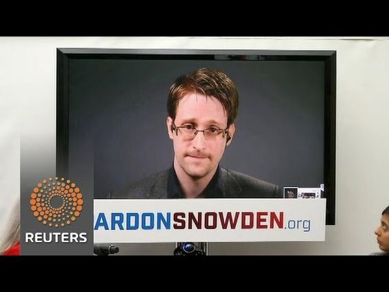 Edward Snowden, supporters make case for pardon