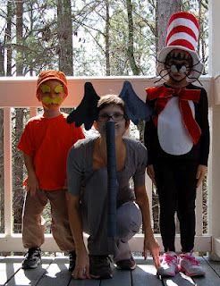 DIY Seuss Costumes