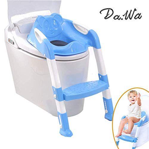 Da Wa Siege Pot Pour Bebe Avec Echelle Enfants Siege De Toilette