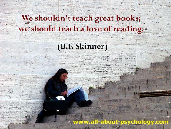 B.F. Skinner Quote