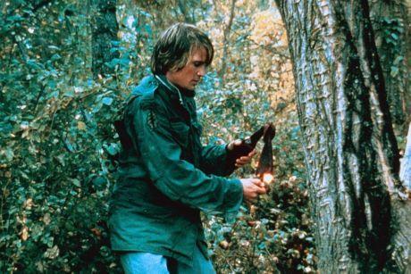 Dirk Benedict as Kyle Hanson in Ruckus (1980)