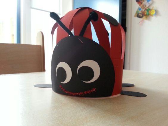 Verjaardagsmuts Lieveheersbeestje