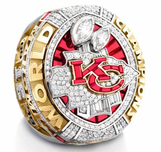 Kansas City KC Chiefs Championship Ring Replica