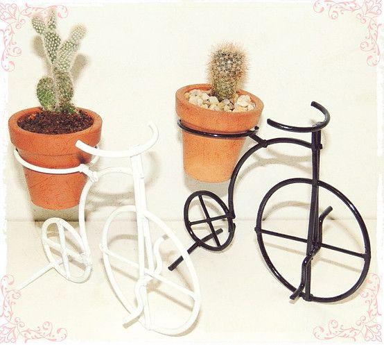 articulos para jardin en hierro porta macetas pinches