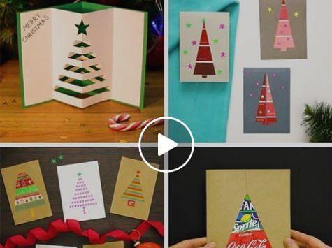 Biglietti Di Natale Video.Guardando Questo Video Tutorial Vi Accorgerete Di Quanto Le Cose Piu Semplici Siano L Biglietti Auguri Fai Da Te Natale Fai Da Te Tutorial Biglietto Natalizio