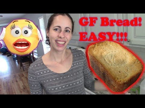 Homemade Gluten Free Bread Made Easy In Bread Machine Youtube Homemade Gluten Free Bread Gluten Free Bread Homemade Gluten Free