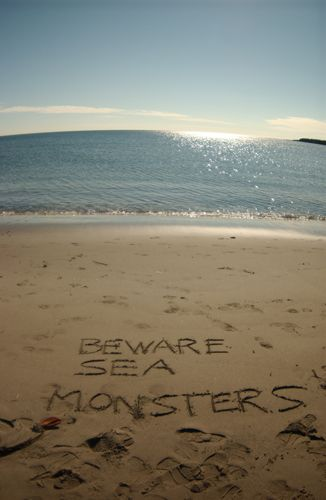 Beware of the Sea Monsters! - www.pedestrianx.com