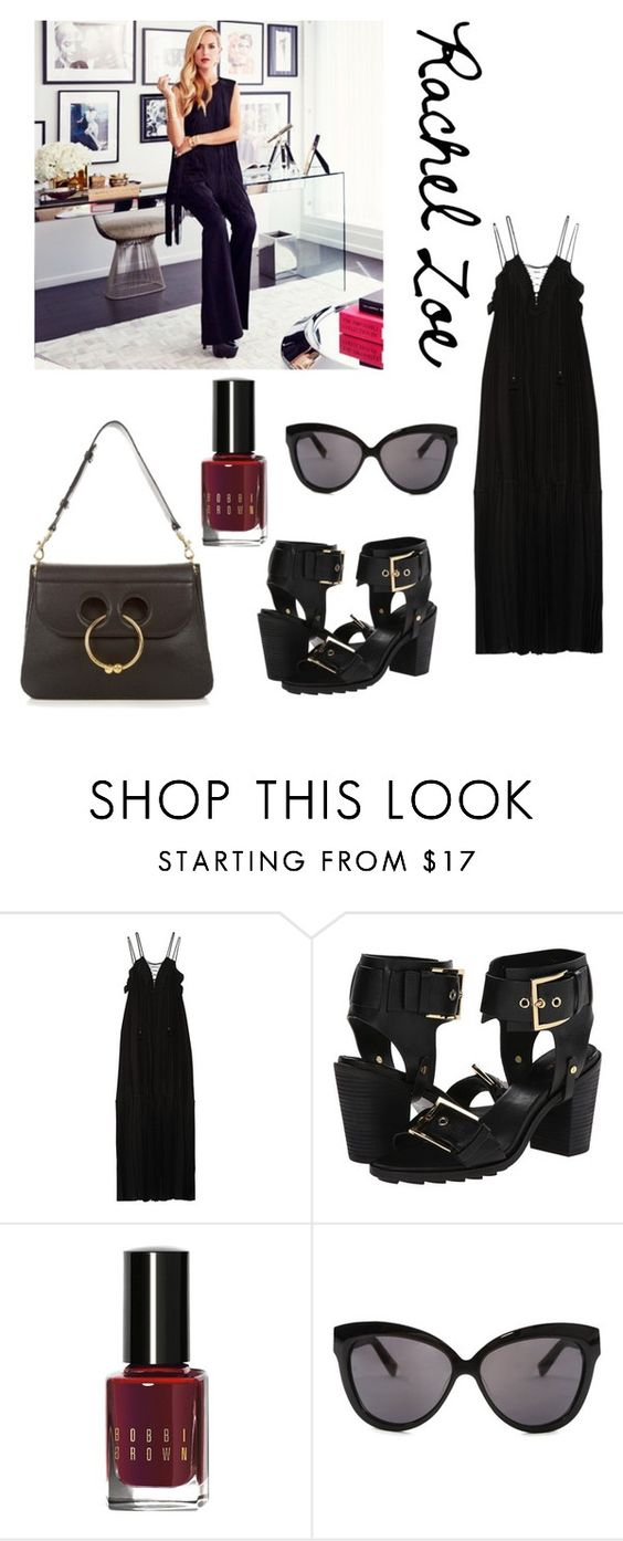 """Rachel zoe"" by im-karla-with-a-k ❤ liked on Polyvore featuring Rachel Zoe, Bobbi Brown Cosmetics and Linda Farrow"