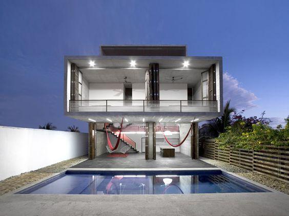 Casa TDA, Puerto Escondido, Oaxaca - México / Eduardo Cadaval & Clara Solà-Morales