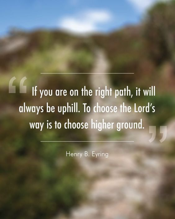 safety of higher ground, #Jesus #apostles: