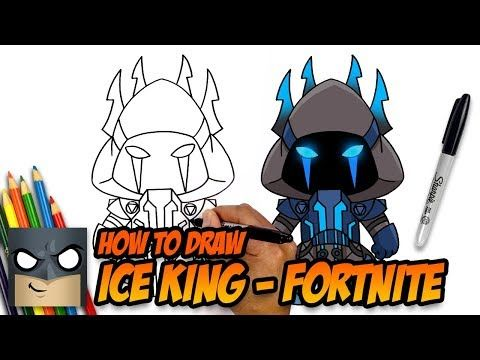 How To Draw Ice King Fortnite Step By Step Tutorial Youtube Ice King Drawing Tutorial Drawing Lessons For Kids