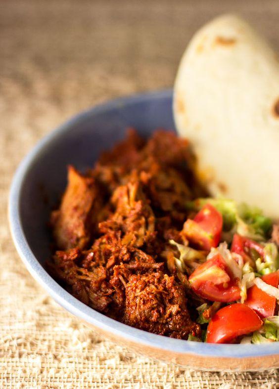 Pork, News mexico and Enchiladas on Pinterest