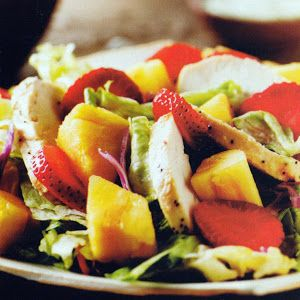 ... | Grilled Chicken Salad, Poppy Seed Dressing and Lemon Poppy Seeds