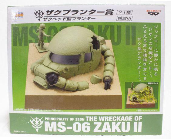 一番くじ 機動戦士ガンダム ザプランター賞 ザクヘッド型プランター [観賞用] MS-06 ZAKU2