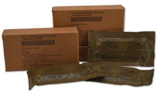 U.S. Military Fire Starter Trioxane Fuel Bars *** Continue to the product at the image link.