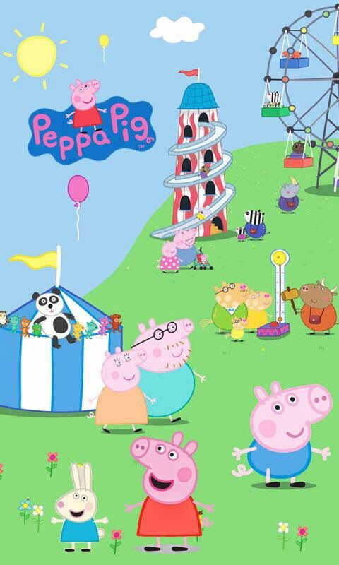 Iphone And Android Wallpapers Peppa Pig Wallpaper For Iphone And Android Peppa Pig Wallpaper Pig Wallpaper Peppa Pig