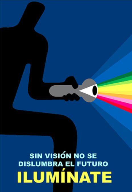 """Poster de Carlos Aponte, """"Iluminate"""", Banco Popular Puerto Rico"""