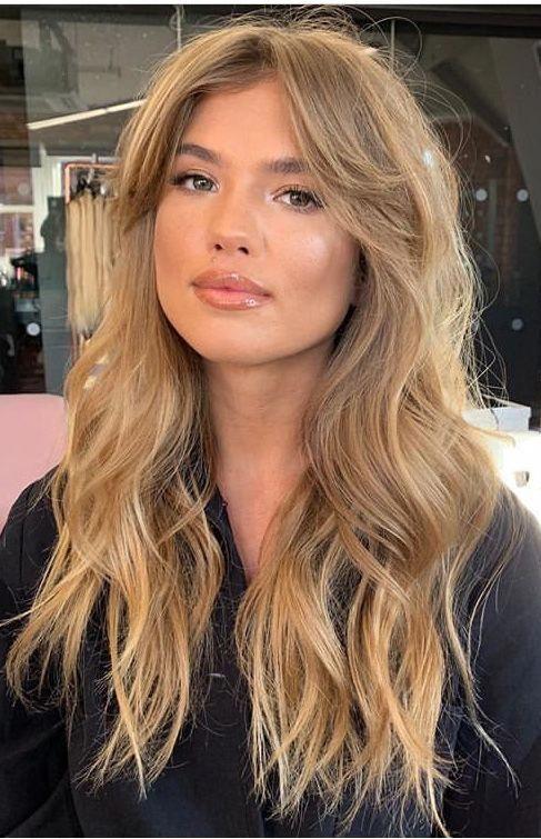 Pinterest Katieb626 Longhaircurls In 2020 Haircuts For Long Hair Bardot Hair Long Hair With Bangs