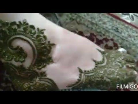 حملة توصيلي للمليون مشترك نقش حناء هندي رائع للقدمين A Wonderful Indian Henna Pattern For The Feet Youtube Caftan Party